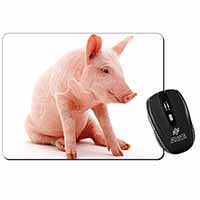 Cute Pink Pig Computer Mouse Mat Birthday Gift Idea