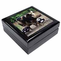 Mother and Piglets Keepsake/Jewel Box Birthday Gift Idea