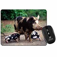 Mother and Piglets Computer Mouse Mat Birthday Gift Idea