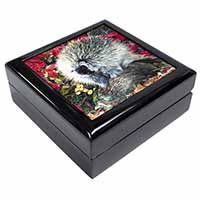 Porcupine Wildlife Print Keepsake/Jewellery Box Birthday Gift Idea