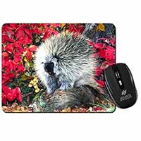 Porcupine Wildlife Print Computer Mouse Mat Birthday Gift Idea