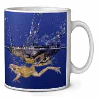 Diving Frog Coffee/Tea Mug Gift Idea