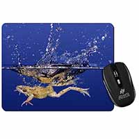 Diving Frog Computer Mouse Mat Birthday Gift Idea