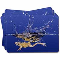 Diving Frog Picture Placemats in Gift Box