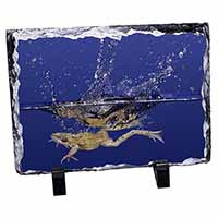 Diving Frog Photo Slate Christmas Gift Idea