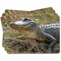 Crocodile Print Picture Placemats in Gift Box