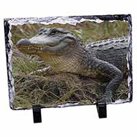Crocodile Print Photo Slate Christmas Gift Idea