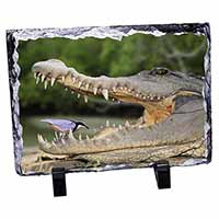 Nile Crocodile, Bird in Mouth Photo Slate Christmas Gift Ornament