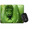 Green Tree Python Snake Computer Mouse Mat Christmas Gift Idea