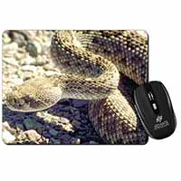 Rattle Snake Computer Mouse Mat Birthday Gift Idea