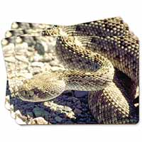 Rattle Snake Picture Placemats in Gift Box