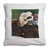 Boa Constrictor Snake Soft Velvet Feel Scatter Cushion