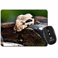Boa Constrictor Snake Computer Mouse Mat Birthday Gift Idea