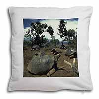 Galapagos Tortoise Soft Velvet Feel Scatter Cushion