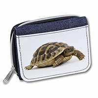 A Cute Tortoise Girls/Ladies Denim Purse Wallet Birthday Gift Idea