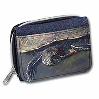 Terrapin Intrigued by Camera Girls/Ladies Denim Purse Wallet Birthday Gift Idea