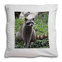 Racoon Lemur Soft Velvet Feel Cushion Cover With Inner Pillow