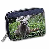 Racoon Lemur Girls/Ladies Denim Purse Wallet Christmas Gift Idea