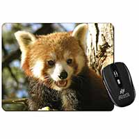 Red Panda Bear Computer Mouse Mat Birthday Gift Idea
