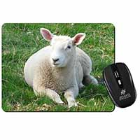 Lamb in Field Computer Mouse Mat Birthday Gift Idea