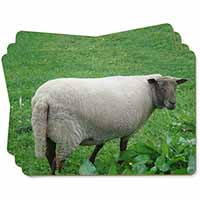 Sheep in Field Picture Placemats in Gift Box
