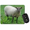 Sheep Intrigued by Camera Computer Mouse Mat Christmas Gift Idea