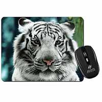 Siberian White Tiger Computer Mouse Mat Birthday Gift Idea
