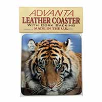 Bengal Tiger Single Leather Photo Coaster Perfect Gift