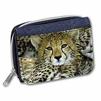 Baby Cheetah Girls/Ladies Denim Purse Wallet Birthday Gift Idea