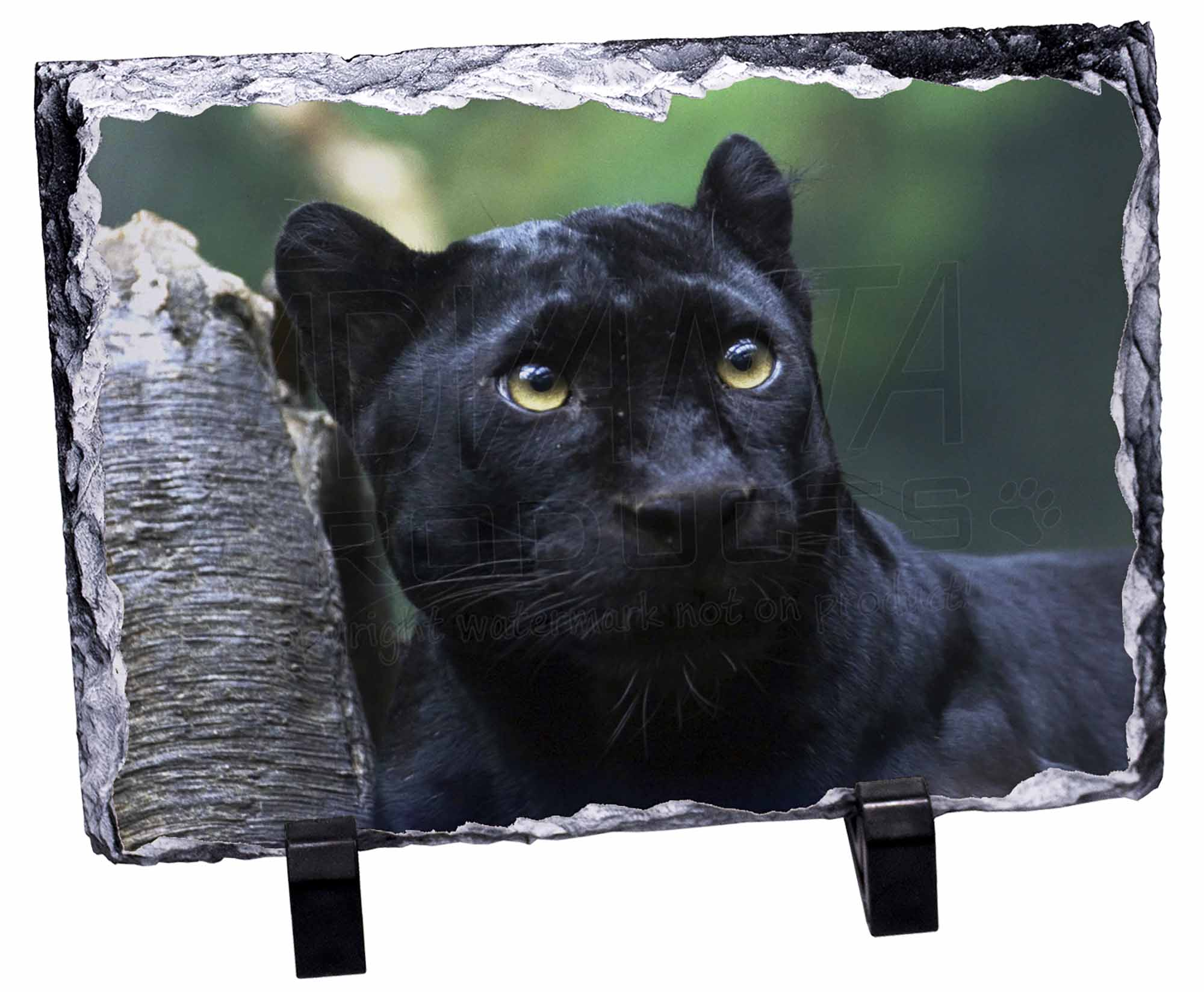 Black Panther Photo Slate Christmas Gift Ornament AT-1SL