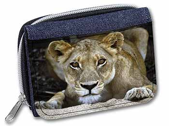 Lioness Girls/Ladies Denim Purse Wallet Birthday Gift Idea