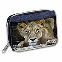 Lioness Girls/Ladies Denim Purse Wallet Christmas Gift Idea