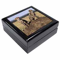 Cheetahs on Watch Keepsake/Jewel Box Birthday Gift Idea