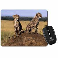 Cheetahs on Watch Computer Mouse Mat Birthday Gift Idea