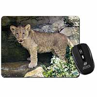 Lion Cub Computer Mouse Mat Birthday Gift Idea