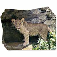 Lion Cub Picture Placemats in Gift Box