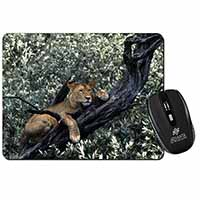 Lioness in Tree Computer Mouse Mat Birthday Gift Idea