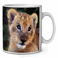 Cute Lion Cub Coffee/Tea Mug Gift Idea