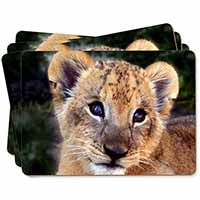 Cute Lion Cub Picture Placemats in Gift Box