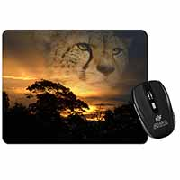 Cheetah Watch Computer Mouse Mat Birthday Gift Idea