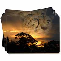 Cheetah Watch Picture Placemats in Gift Box