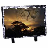 Cheetah Watch Photo Slate Christmas Gift Idea