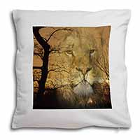 Lion Spirit Watch Soft Velvet Feel Scatter Cushion