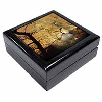 Lion Spirit Watch Keepsake/Jewel Box Birthday Gift Idea