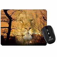 Lion Spirit Watch Computer Mouse Mat Birthday Gift Idea