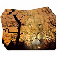 Lion Spirit Watch Picture Placemats in Gift Box