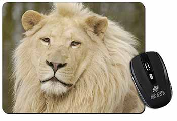 Gorgeous White Lion Computer Mouse Mat Birthday Gift Idea