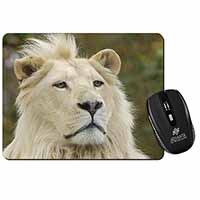 White Lion Computer Mouse Mat Birthday Gift Idea
