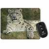 Beautiful Snow Leopard Computer Mouse Mat Christmas Gift Idea