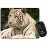White Tiger Computer Mouse Mat Christmas Gift Idea